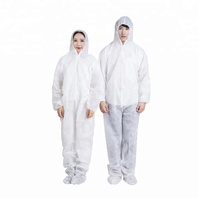 Microporous Painter Workwear Industry Safety Protective Clothing Disposable Non Woven Coverall