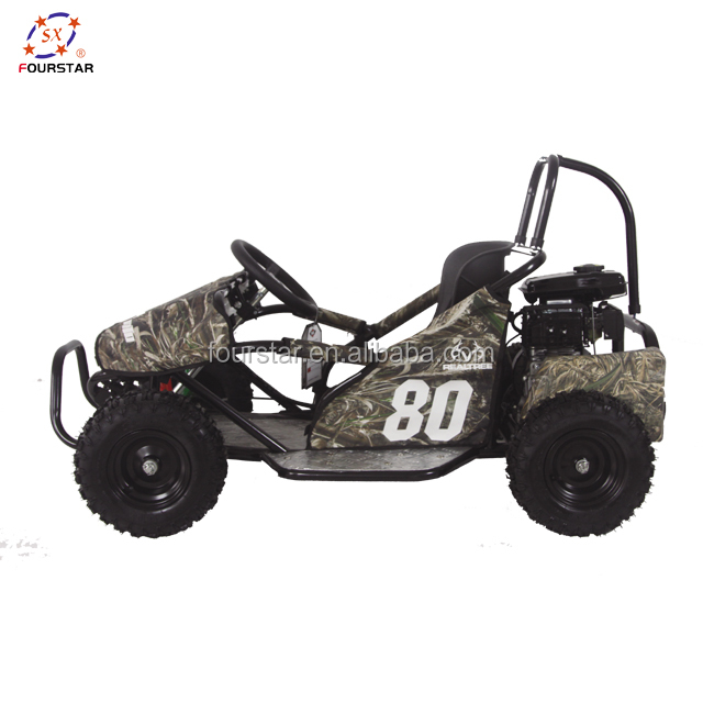 90CC Children Go Kart Off Road Buggy 4 Stroke for Racing and Rental with Lifan Engine