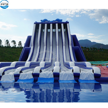 Beach slide inflatable jumbo hippo water slide, inflatable beach slide