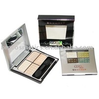 four colors wet eye shadow
