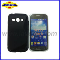 2013 New Arrival S Line Wave Design TPU Gel Mobile Phone Cover Case for Samsung Galaxy Ace 3 S7272