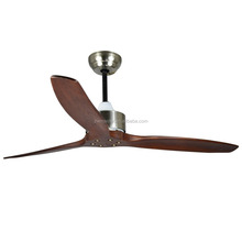 indoor light kitchen use three wood blades ce nickel ceiling <strong>fan</strong>