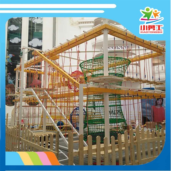 amusement park machine climbing rope playground building frame toy