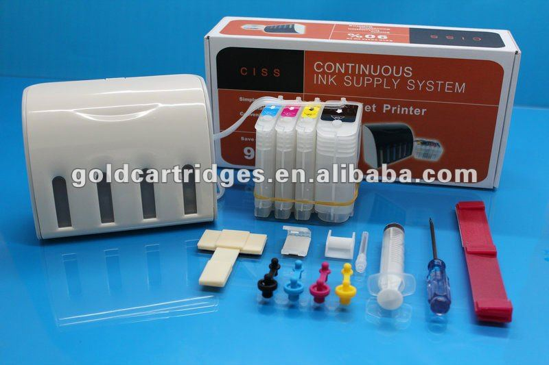 Continuous ink supply system for Epson T1301-1304 Work Force 520/ 635/ 630/Work Force 840/Work Force 60