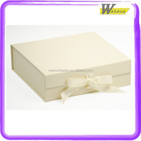 hot sale promotion chain store high quality cardboard gift packing box for silk flower headband hairband