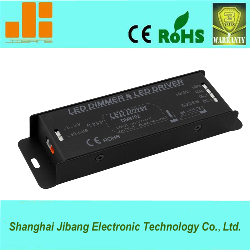 Constant Current 700mA 0-10V dimmable driver for led strip