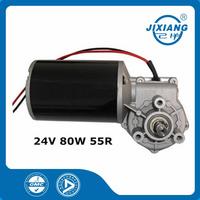 24V Garage Door DC Motor Worm Gear Motor 76248055