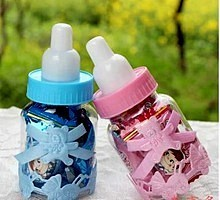 Baby shower decoracion baby shower favors mini <span class=keywords><strong>botella</strong></span>