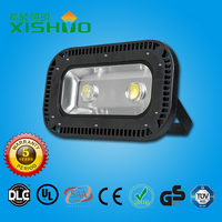 Color changing outdoor led flood light 100w ultra slim dimmable led flood light for outdoor building with CE RoHS SAA approval