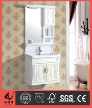 Hangzhou Modern New Wall Hang PVC Bathroom Cabinet Furniture S7578-60