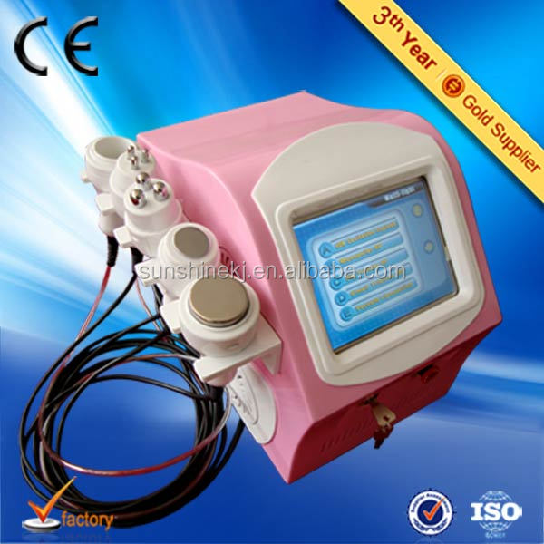 Big discount top quality CE TUV portable 5 in 1 cavitation beautydom