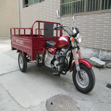 200CC closed cabin cargo tricycle/3 wheeler scooter/3 wheel trimoto with two passenger seat
