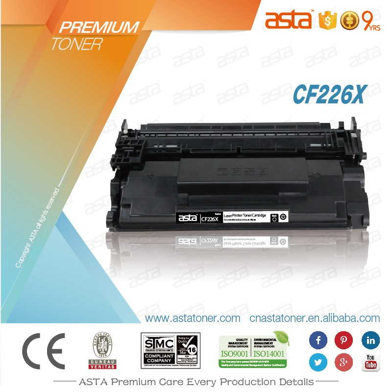 compatible toner cartridge CF226A/26A CF226X/26X use for HP printer