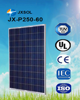 PV module poly crystalline 250w solaires panneaux with full certificates