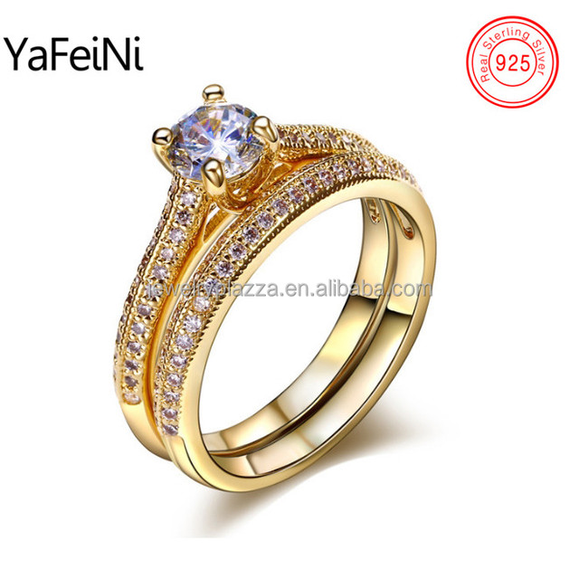 925 sterling silver ring jewelry , Bali wedding engagement CUT diamond ring set , king and queen engagement and wedding ring
