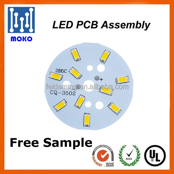 Hot sell!Round 5W Plate SMD5730 LED PCB for Bulb and Panel Light