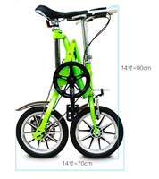 One second Electric folding bicycle 2 wheel scooter yes foldable bicycle from Horwin