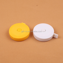 Soft pvc portable retractable tape measure 1.5m measuring tool cute mini promotional soft measuring tape