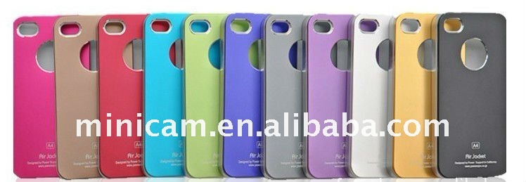 Hot sale! Fashion MOmoSHI Newest Plastic Hard Shell Case For iphone 4 4G 4th