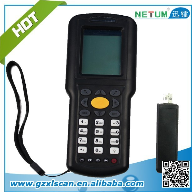 NT-9800 data collector with wireless receiver with display and keyboard