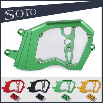 Hotsale CNC Motorcycle Left Engine Front Sproket Chain Protector Cover For Kawasaki ZX6R