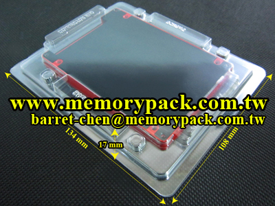 MPKCOSSD25B bracket ssd hdd clamshell packagimg case