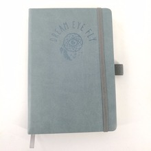 Classic notebook/dairy/agenda/journals school supplies promotional leather notebook