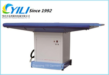 High efficiency flat vacuum ironing table/Industrial vacuum ironing machine