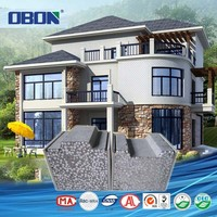 OBON luxury prefab house building prefabricated villa