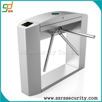 Hotel access card system excellent quality tripod turnstile series