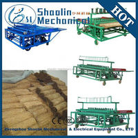 Agricultural recycling straw mat knitting machine/mattress braiding machine/mat weaving machine with high efficiency