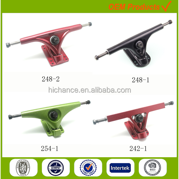 Pro Quality Gravity Casting Customized Skate longboard Trucks in 180mm Hanger Size