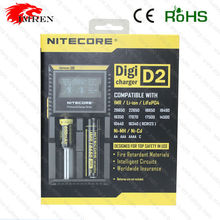 Newest lcd Nitecore D2 charger IMR/Lifepo4/NiMh/NiCd AA AAA battery charger nitecore smart charger