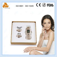 facial kit with massager galvanized iron CE ROHS