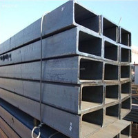 MS steelA36 150X75MM 6M length steel u channel for construction