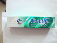 Doctor toothpaste free sample good quality dentiste toothpaste