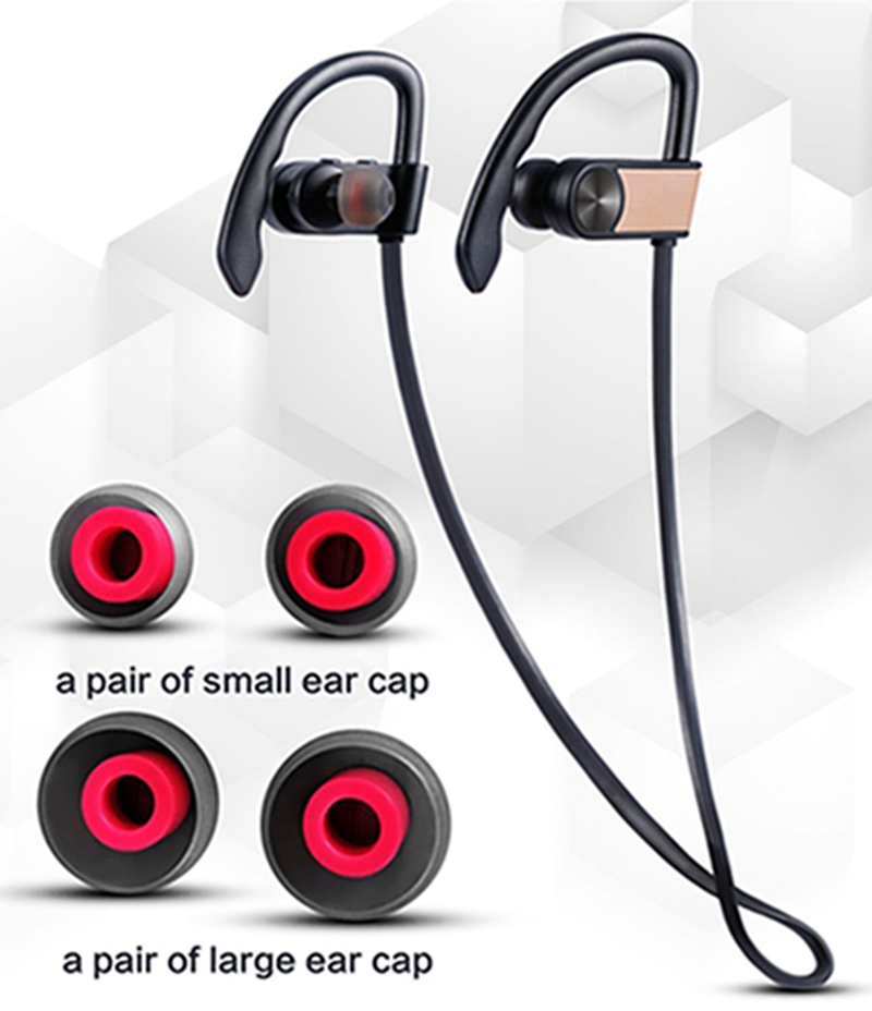 Astest High Quality CSR 8645 Chipset Bluetooth Wireless Earphone Sports Jogging Stereo Luxury Brand Headset Earphone