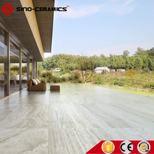 "FOSHAN Travertine look Glazed porcelain floor tile AAA grade 12x24"", villa glazed porcelain tile"