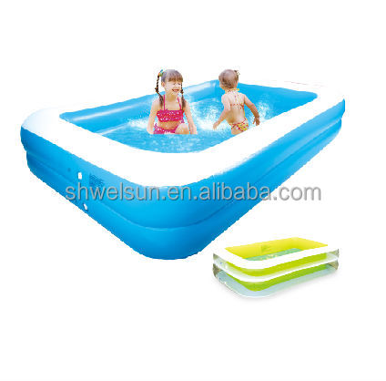 Round Inflatable Swim Center Family Pool