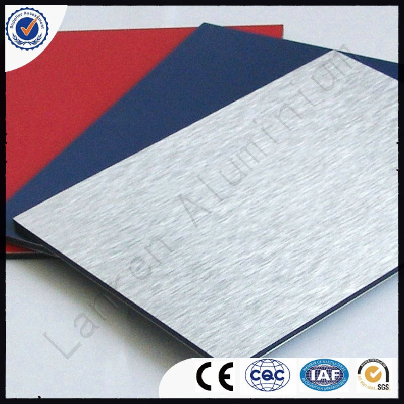 Anodized,Brushed,Foil Decoration,Mirror,PE Coated,PVDF Coated Surface Treatment and Outdoor Usage aluminium composite panels