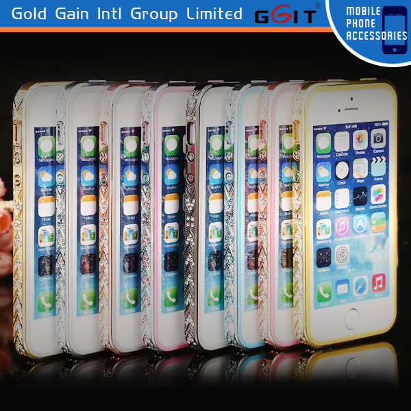 Luxury Color Frame Shell Case For iPhone 5 5S Bumper Cover