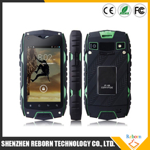 4.0 Inch Screen Jeep Z6 3G Mobile Phone Dual Core GPS IP68 Rugged Waterproof Cell Phone