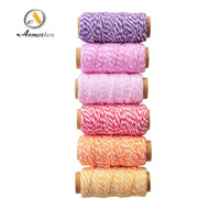 High quality cotton twine rope 1cm-2cm