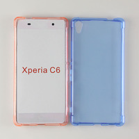 alpha design collision avoidance antiskid cell phone skin for SONY Xperia C6 case