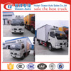 3 Tons carrier refrigerator truck/cooler van for fresh vegetable and milk