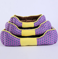 Luxury Comfortable Waterproof Fabric Pet Dog Bed /Dog Cushions