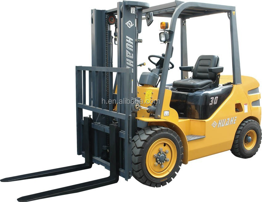 d powered fork lifts with chinese xinchai c490bpg