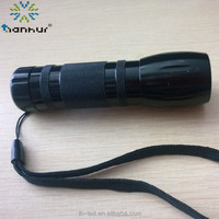 high power rechargeable uv led flashlight
