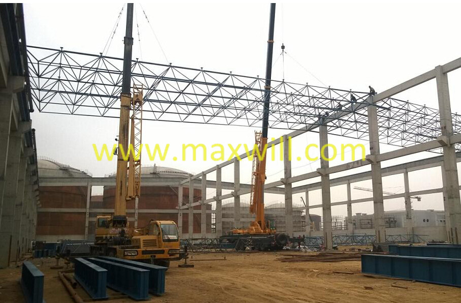 Steel roof trusses, metal roof truss design,curved roof trusses