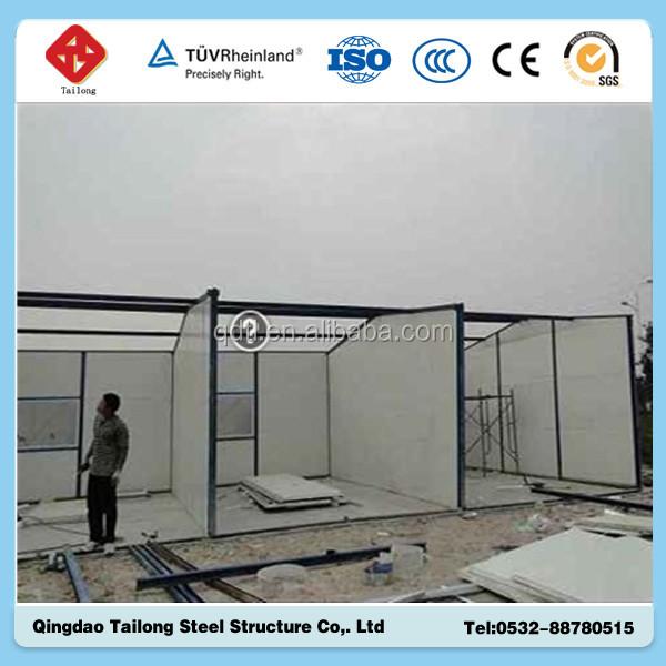 Steel Structure Sandwich Panel Portable Cabin Base